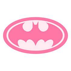Batgirl pink Batman Logo T shirt Iron on Transfer 8x10 ...