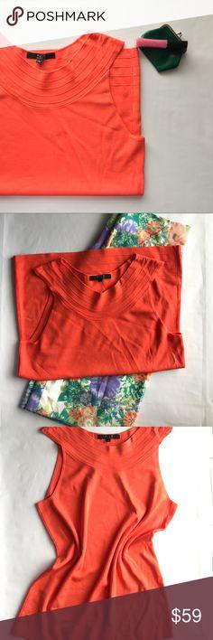Alex Marie Helene Knit Top Alex Marie   Size: Large (12-14)   Nasturtium Orange 🍊   NWT Alex Marie Tops Blouses