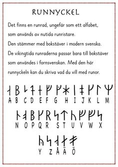 Runskrift2016 Ammi Arbetshäfte Vikings, Math Word Problems, Future Jobs, Classroom Inspiration, Classroom Ideas, Thinking Day, Learning Letters, Teaching History, Too Cool For School