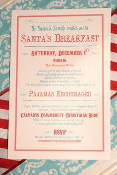 Awesome santas breakfast idea