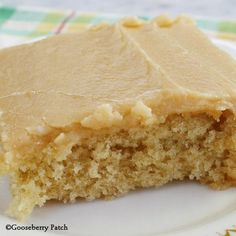 Peanut Butter Texas Sheet Cake - you'll love the frosting - it tastes just like peanut butter fudge! From Gooseberry Patch Recipes