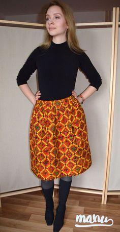Spódnica Cinta Batik #manu #manushop #moda #fashion #skirt #batik