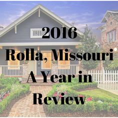 2016 Rolla Market Review