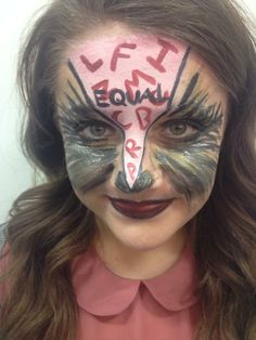 Animal Farm - Raven Makeup with Base - MUA Brandon Barns - Model Frances Luck