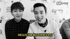 Block B...it starts out normal...an then it turns into...P.O | via Tumblr p.o