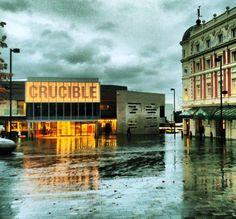 Tudor Square on a rainy day (photo by @ thawantsshooitin on IG) #socialsheffield