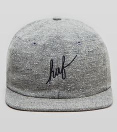 Buy  HUF Tweed 5 Panel Strapback Cap - Mens Fashion Online at Size?