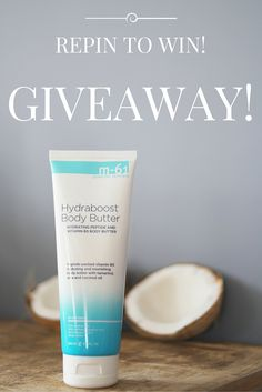 GIVEAWAY! We're giving away one of our brand NEW Hydraboost Body Butters! Packed with peptides, vitamin B5, tamarind, aloe and coconut oil, it is super rich, hydrating and non-irritating. Use it as an all-over body moisturizer, especially on your legs for sleek summer pins! To enter to win 1. Follow us on Pinterest, 2. Repin this photo. One entry per person. U.S. residents only. Official rules at www.bluemercury.com/Contests/hydraboost-body-butter-june-giveaway/rules.asp