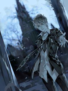 Ruki Mukami - Diabolik Lovers   He's the sexiest vampire I've laid eyes on. vuv <3