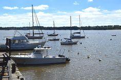 Muelle de Colonia, vacaciones de invierno Uruguay Tourism, Tour Guide, Boat, Tours, World, Winter Holidays, Boat Dock, Places To Visit, Beach