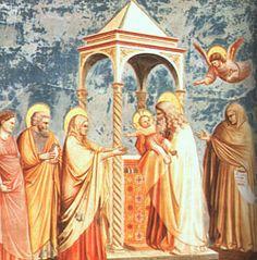Image of St. Anna the Prophetess feast day 1st September pray for us.