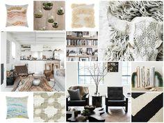 Rustic, earthy interior design #moodboard created on www.sampleboard.com
