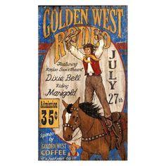 Golden West Wall Art - PP-1160