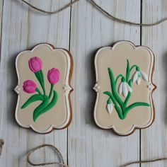 Tulip & Lily Cookies