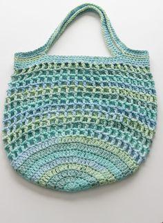 Reusable Crochet Market Bag by SugarTreeSparrow on Etsy