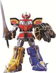 Super Robot Chogokin Megazord Mighty Morphin Power Rangers