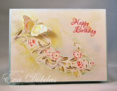 For the love of life: JustRite Papercrafts: Sentimental Flowers