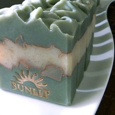 Green+Tea+and+Ginger+Beer+Handcrafted+Artisan+Soap+by+Sunlitsoap,+$6.50