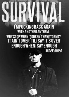Eminem marshall mathers slim shady b-rrabit stan like like like just for Eminem soldiers! Eminem Lyrics, Eminem Rap, Eminem Quotes, Lyric Quotes, Music Lyrics, Eminem Memes, Life Quotes, Eminem Soldier, The Eminem Show