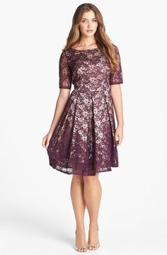 Fit and Flare Summer Dress | Taylor Dresses Lace Fit & Flare Dress from Nordstrom