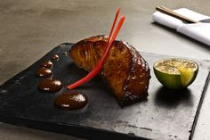Fou Zoo marinated Black Cod, with miso