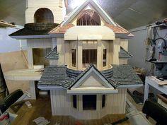 Ron James' Dollhouses #2  The masterbuilder