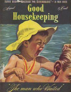 Good Housekeeping Magazine, August 1940 (Jon Whitcomb)