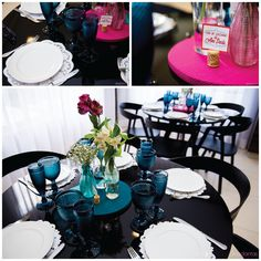 Chá de cozinha colorido | Inspiração e ideias lindas para um chá de cozinha cheio de cor pink + turquesa + laranja