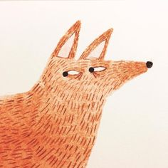 Watchful fox illustration joana rosa bragança More