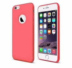 iPhone 6/6S 6S Plus Silicone TPU Ultra Thin Fashion Phone Case - 5 Colors