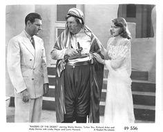 Richard Arlen, Andy Devine, and Linda Hayes, Raiders of the Desert (1941)