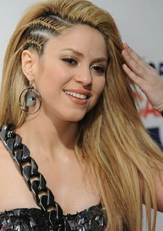 braids but I think I will do it will curly hair Shakira Love Beautiful Woman Singer