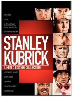 Stanley Kubrick: Limited Edition Collection (Spartacus / Lolita / Dr. Strangelove / 2001: A Space Odyssey / A Clockwork Or...: http://www.amazon.com/Stanley-Kubrick-Collection-Spartacus-Strangelove/dp/B004O724NG/?tag=prob08-20