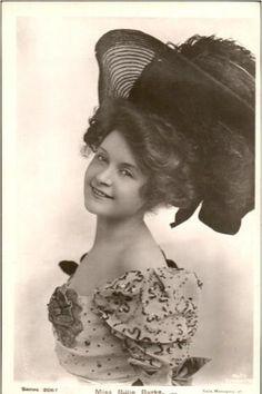 The lovely Billie Burke in the 1900's