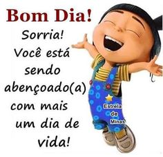 Mulheres Auxiliadoras: BOM DIA A TODOS, SORRIA.... Portuguese Quotes, Peace Love And Understanding, Doodle Quotes, Betty Boop, Peace And Love, Instagram Story, Minions, Pasta, Night