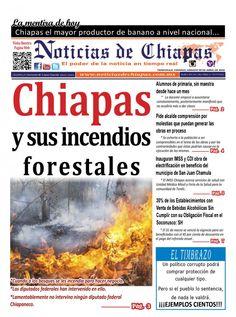 NOTICIAS DE CHIAPAS, EDICIÓN VIRTUAL;SÁBADO 09 DE ABRIL DE 2016 https://issuu.com/noticiasdechiapastapachula/docs/ndch090416