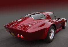 1963 Chevrolet Corvette Split-Window - custom. Repined by our Louisville, CO Orthodontist.