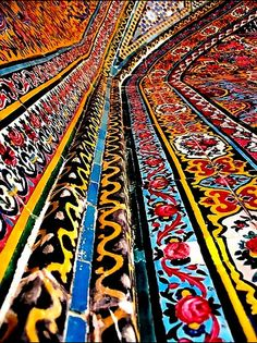 Islamic Architectural Tile   2010   Iran   Photo: Baqar Jawad
