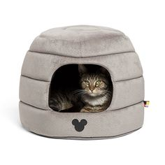 Disney Mickey Mouse 2-in-1 Honeycomb Hut Cuddler in Mickey Bobble (Dog Bed / Cat Bed) -- You can find more details by visiting the image link. (This is an affiliate link and I receive a commission for the sales)