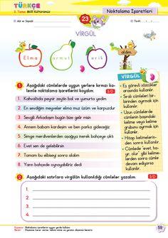 2. Sınıf Soru Bankası Tüm Dersler Süper Kitap Turkish Lessons, Learning Arabic, Writing A Book, Kids And Parenting, Homework, Karma, Worksheets, Language, Bullet Journal