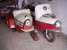 Bike With Sidecar, Vintage Bikes, Eastern Europe, Scooters, Java, Cars And Motorcycles, Quad, Bicycle, Retro