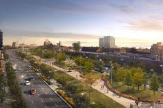 Bonaventure: un boulevard urbain «spectaculaire» pour entrer à Montréal