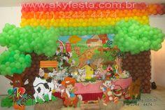 Aniversario INFANTIL TEMA decoracao PALHAÇO CIRCO casa de festas cerimonial bufet AKY FESTA SALVADOR BAHIA 71 3244-4474
