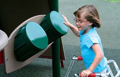 Drum Accessible Reach Panel, Add the Panel to Playground to Encourage Creativity and Inclusion, ADA Accessible, Stand Alone Activities - Miller & Associates - Sauk Prairie, Inc.