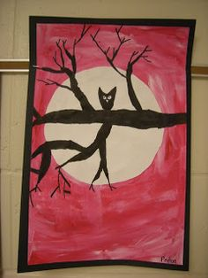WHAT'S HAPPENING IN THE ART ROOM??: 5th Grade: Owls