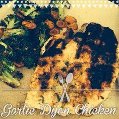 Alexa Eats Clean: RECIPE: Grilled Chicken Dijon