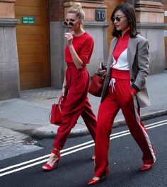 Red on red// photo by @thelaurablair
