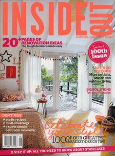 Inside Out magazine, November/December 2012 relaunch issue. Subscribe via Zinio, http://au.zinio.com, or Magsonline, http://www.magsonline.com.au.