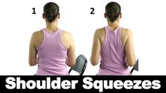 Shoulder squeezes are great for keeping your shoulders and chest nice and stretched out. Watch more Ask Doctor Jo videos featuring full routines for common injuries and syndromes at http://www.askdoctorjo.com