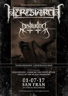 Long Live The Loud 666: HERESIARCH & DESTRUCTOR U.S TOUR 2017